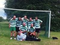 FC Rute. Carl-Johan, Calle, Adam, Micael, David, Lars, Otto och Artur